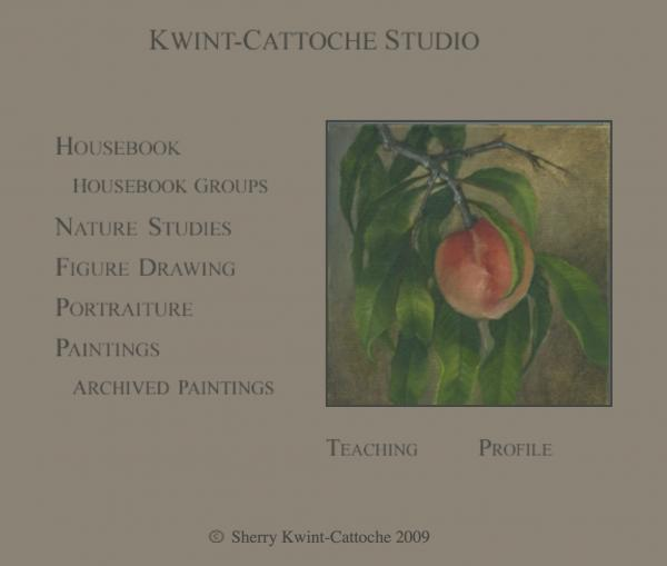 Sherry Kwint-Cattoche Website image  and link