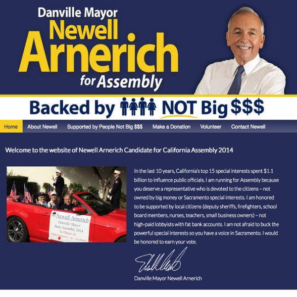 Newell Arnerich for Assembly  website image