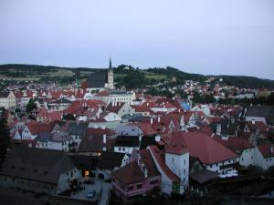 View Cesky Krumlov Early Evening 2004
