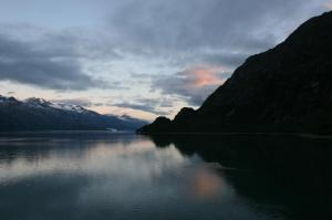 Glacier Bay Sunrise Alaska 2006