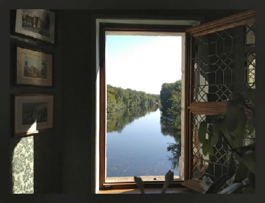 """Dream"" – View from window at Château Chenonceau, France, Sept 2012"